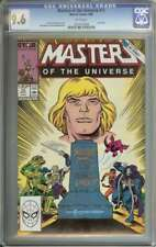 MASTERS OF THE UNIVERSE #13 CGC 9.6 WHITE PAGES