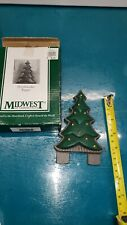 Midwest of Cannon Falls Cast iron Christmas tree never used