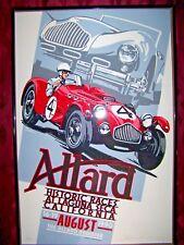 The Allard Register historic races at Laguna Seca California August 1990 PRINT