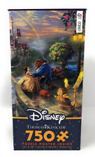 Disney Thomas Kinkade Beauty & Beast Falling In Love 750 Piece Puzzle NEW