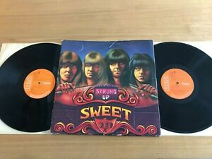 SWEET...STRUNG UP...RARE UK FIRST ISSUE DOUBLE ALBUM...RCA...SPC 0001