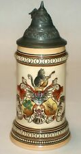 """.5 Liter Etched Merkelbach & Wick Stein  """"Student Arms"""""""