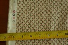 "By-the-Half-Yard 45"" Rosebuds & Cream ""Quilt for the Cure"" Quality-Cotton M4461"
