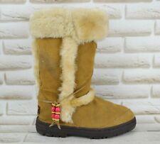 UGG Sundance II Womens Leather Knee High Winter Outdoor Boots Size 5 UK 38 EU