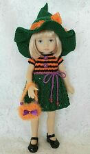 "OOAK Halloween outfit for Dianna Effner Boneka doll 10"" Little Darling"