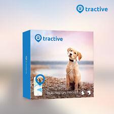 Tractive GPS Hunde Tracker Halsband Tier Peilsender wasserdicht generalüberholt