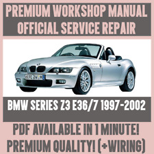 *WORKSHOP MANUAL SERVICE & REPAIR GUIDE for BMW Z3 E36/7 1997-2002 +WIRING