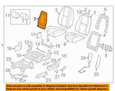 GM OEM Front Seat-Seat Back Panel Trim 20926188