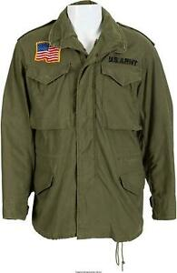 M65 JOHN RAMBO COMBAT FIELD JACKET US ARMY MILITARY COMMANDO COTTON JACKET OLIVE