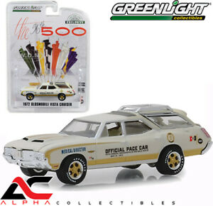 GREENLIGHT 30050 1:64 1972 OLDSMOBILE VISTA CRUISER 56TH INDY 500 PACE CAR