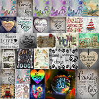 5D DIY Full Drill Diamond Painting Cross Stitch Embroidery Mosaic Home Wall