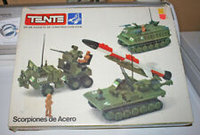 Tente military building brick set w/ OB and instructions