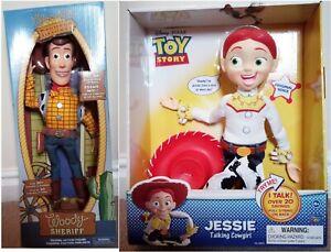 Disney Toy Story 12 Inch Talking Jessie,Woody