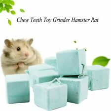 Pet Hamster Chew Rabbit Guinea Pig Teeth Grinding Bite Stone Cage Mineral  Stone