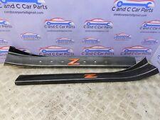 Nissan Fairlady Z 350Z Puerta Umbral Patada Placas Personalizado Envoltura De Carbono 769B1 CD000 4A3A