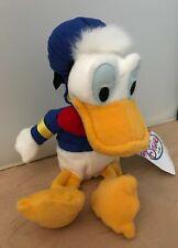 "Donald DuckDisney Store Plush 8""  Bean Bag New"