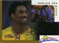 1996/97 INKcredible Behind the Glass GOLD Kobe Bryant ROOKIE MINT-NEVER ISSUED!