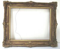VINTAGE   GILDED FRAME FOR PAINTING  20 X 16 INCH  (f-19)
