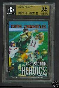 BGS 9.5 Topps Chronicles Reggie Bush/Matt Leinart Card
