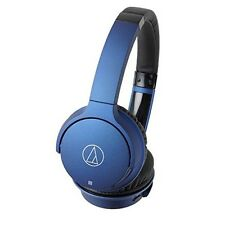 NEW Audio Technica Bluetooth Wireless Headphone (Deep Blue) ATH-AR3BT BL