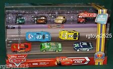 Disney Pixar CARS Piston Cup Nights Speedway 9 Pack Houser Boon Dash Boardman