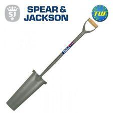 """Spear & Jackson 28"""" Tubular Carbon Steel Newcastle Drainage Spade MYD 2153AE"""