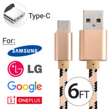 OEM Samsung Fast Charge USB Type-C Charging Cable for Galaxy S8 S9 Note 8 LG G6