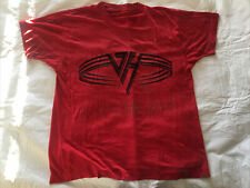 Van Halen Red T-shirt; 1991 Concert T-shirt; For Unlawful Carnal Knowledge; S/M
