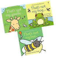 That's not my series 17:3 books collection set by Fiona watt (frog bee giraffe)