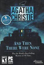 Agatha Christie: And Then There Were None PC, 2005 Bonus Free Book Inside