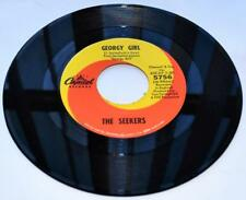 The Seekers Georgy Girl 1966 Capitol 5756 Folk Rock 45rpm Strong VG+