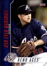 2016 Reno Aces Choice #27 Evan Marshall Wichita Kansas KS Baseball Card