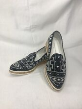 Donald J. Pilner Beaded Black and White Shoes w/cork Size 6