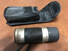"Sharper Image Golf Mini Rangefinder Scope 7 x 18mm 3"" Tall With Case & Strap"