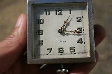 Vintage 8 Day 2 Adjustment 6 Jewels Pocket Watch - Swiss Made - Working
