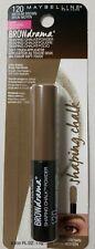 Maybelline Brow Drama Shaping Chalk Powder #120 Medium Brown