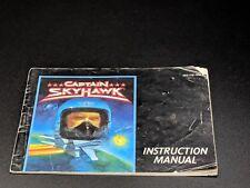 Captain Skyhawk Instruction Manuel Nintendo Nes Ex Condition