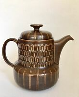 Vintage Pennine Wedgwood Brown Teapot With Lid Excellent Holds 4 Cups