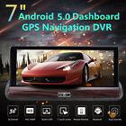 """7"""" Dual Lens HD 1080P Car DVR Dash Cam GPS Nav 3G WIFI Drving Camera Recorder"""