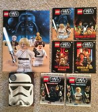 DK LEGO Star Wars READERS Ultimate Book Collection, Poster,6 Books,QR Code,Lot 7