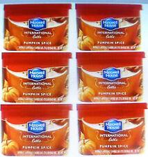 Maxwell House International Latte Pumpkin Spice Creamer Cafe Beverage mix 6 cans