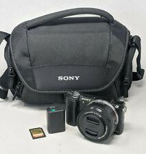 Sony Alpha A5000 20.1MP Digital Camerawith 16-50mm Lens