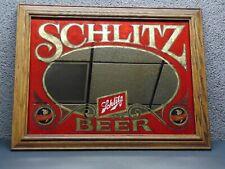 Vintage Schlitz Beer Advertising Mirror Ships Free