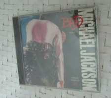 Michael Jackson Official The Bad Mixes Promo 9 Track CD 1988 Sealed ESK 1215