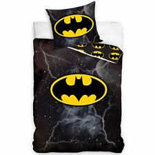 Official Batman Lightning Single Duvet Cover Set Cotton European Reversible