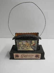 Bethany Lowe Small Thanksgiving Greetings Container