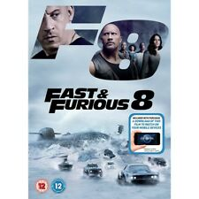 & Fast and Furious 8 DVD UK Region 2 1st Class