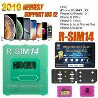 Newly RSIM14 12+ Nano Unlock Card for iPhone XS MAX/XR/XS/8/7 iOS 12 11 Lot