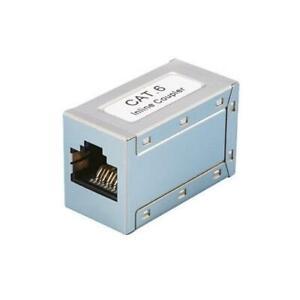 [Ref:NP0026] LOGILINK Adaptateur Coupleur Ethernet Cat 6a RJ45 Argent
