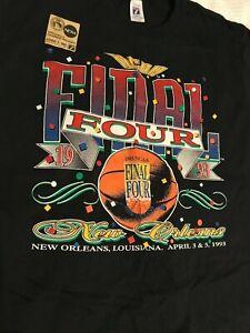 Final Four 1993 Vintage T Shirt Basketball New Orleans 7 Logo X Large Never Worn